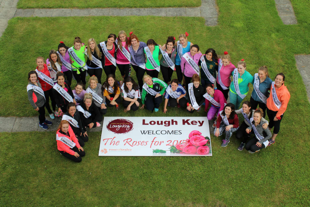 Photo of Great welcome for Roses in Boyle