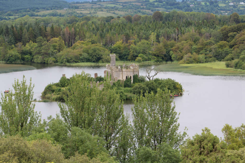 Photo of Lough Key on RTE TV on Friday