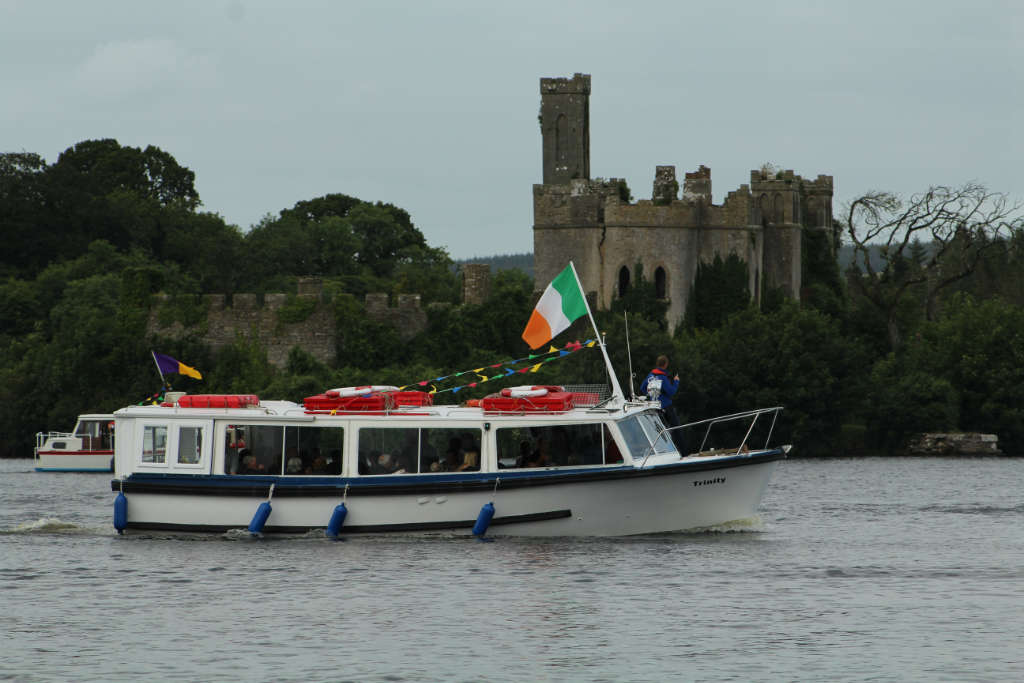 Photo of Pete Walsh remembered on Lough Key