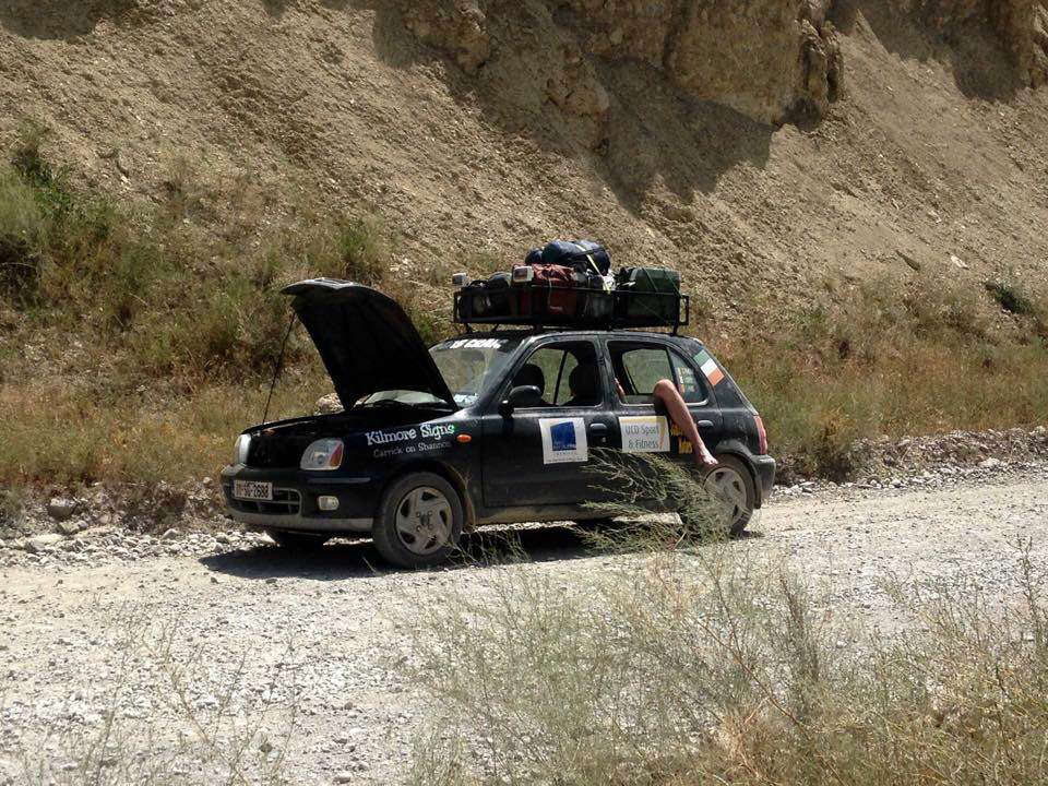 Photo of Devin Finneran's Mongol Rally update