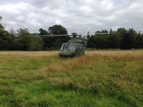 Photo of Helicopter at medical emergency
