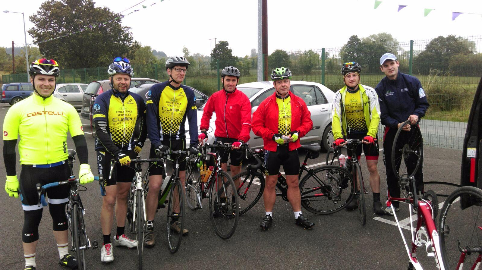 Photo of Boyle cyclists compete in Leitrim