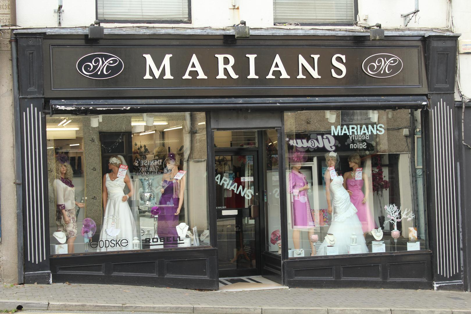 Photo of Marians Bridal sale this weekend