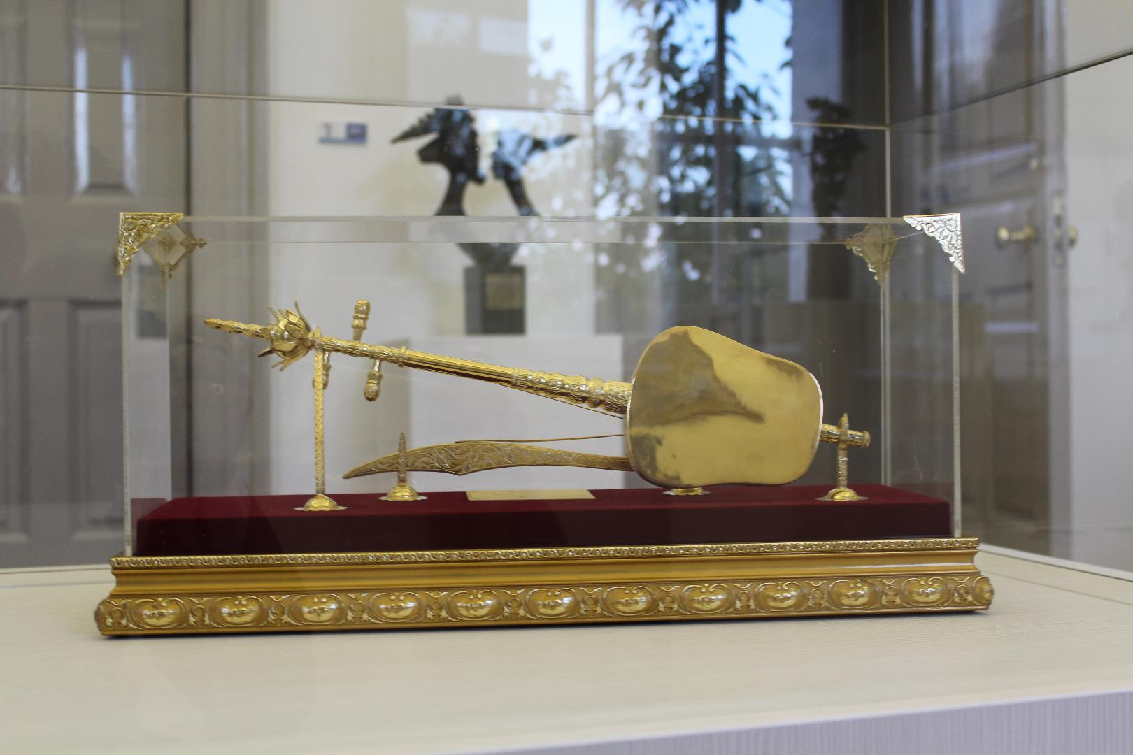 Photo of State Gifts on display in King House