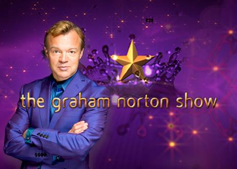 Photo of Boyle men on Graham Norton Show