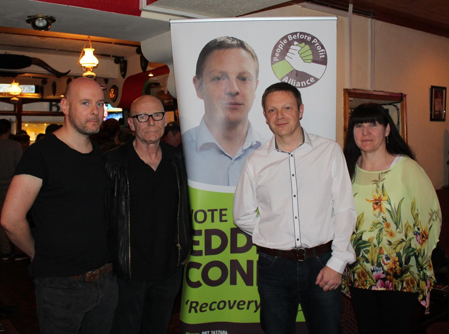 Photo of Conroy election campaign launch