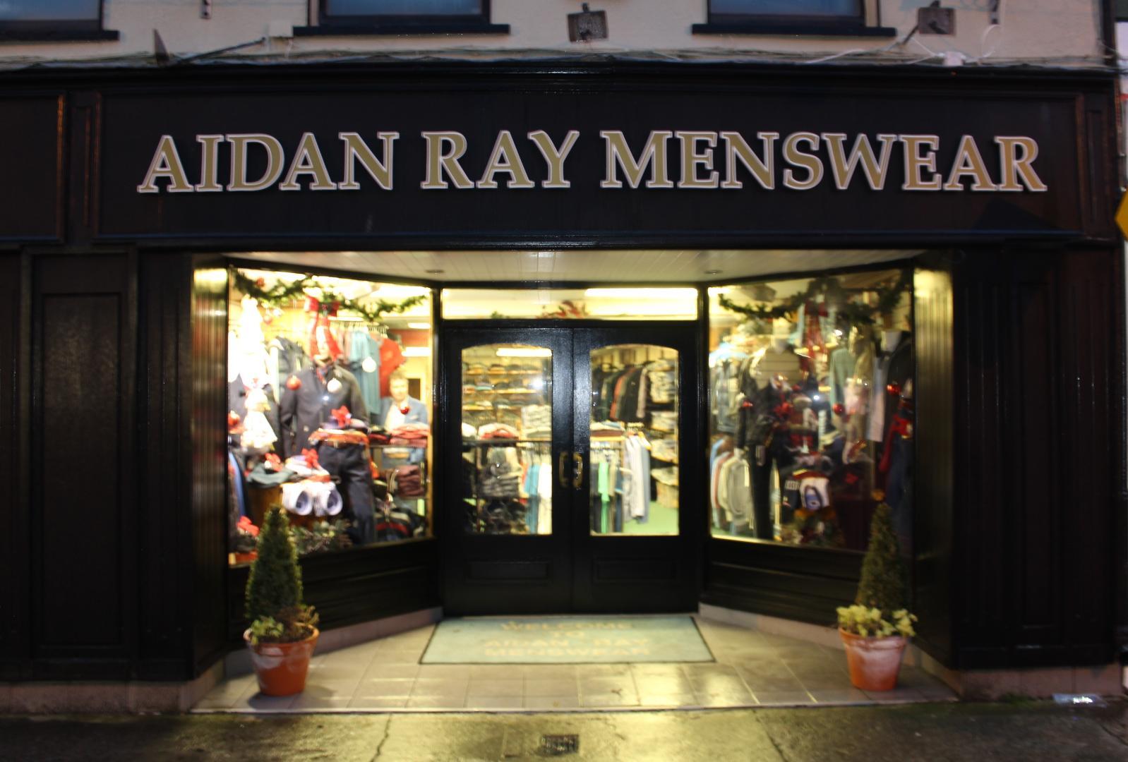 Photo of Christmas at Aidan Ray Menswear