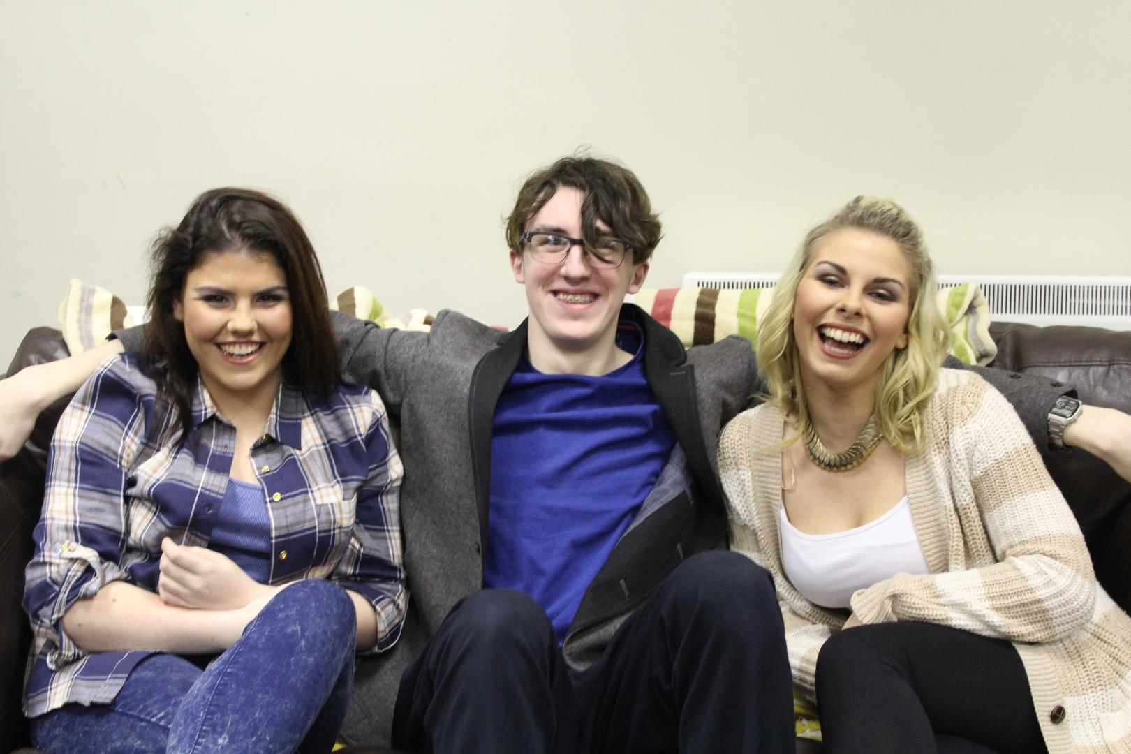 Photo of Four Boyle students plan new app
