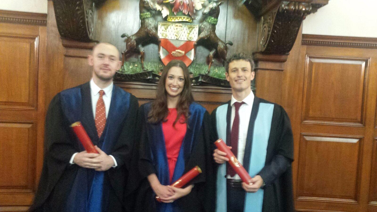 Photo of Three Boyle Surgeons graduate