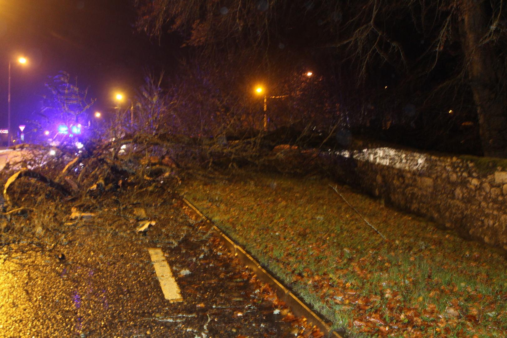 Photo of Storm damage in Boyle tonight