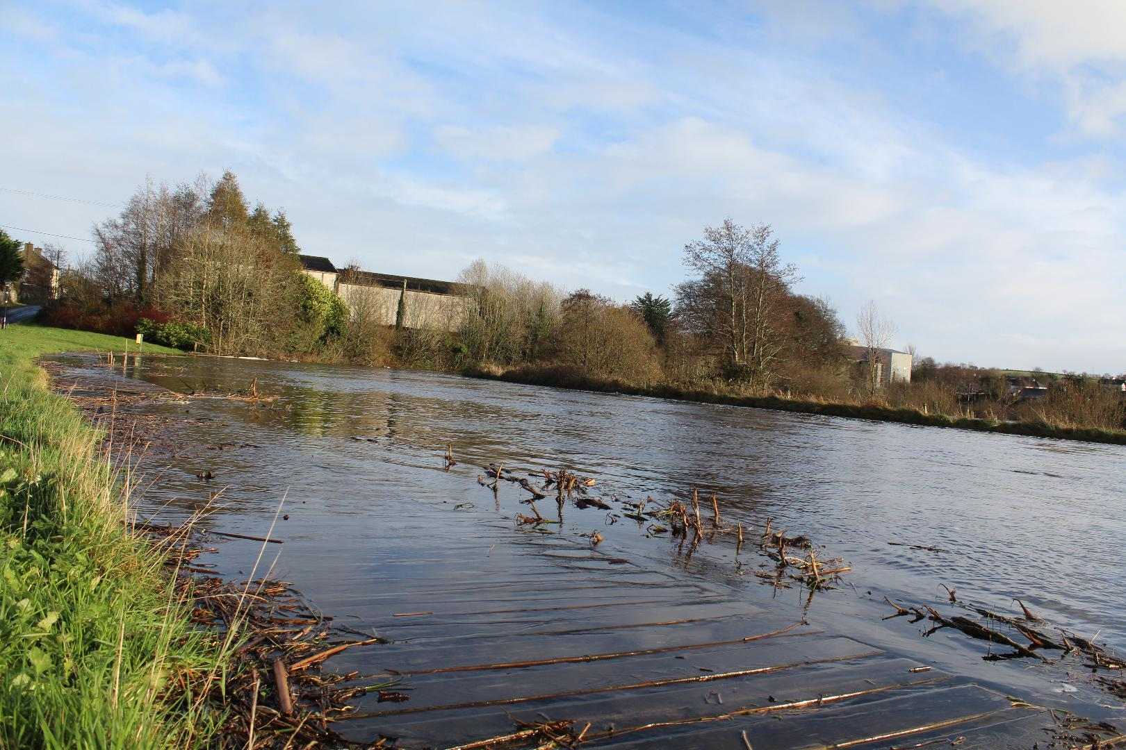 Photo of Visitors Centre closed after flooding