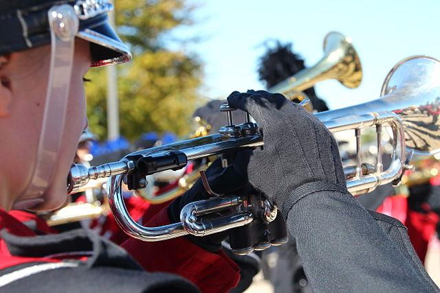 Photo of Marching Band video to be shown