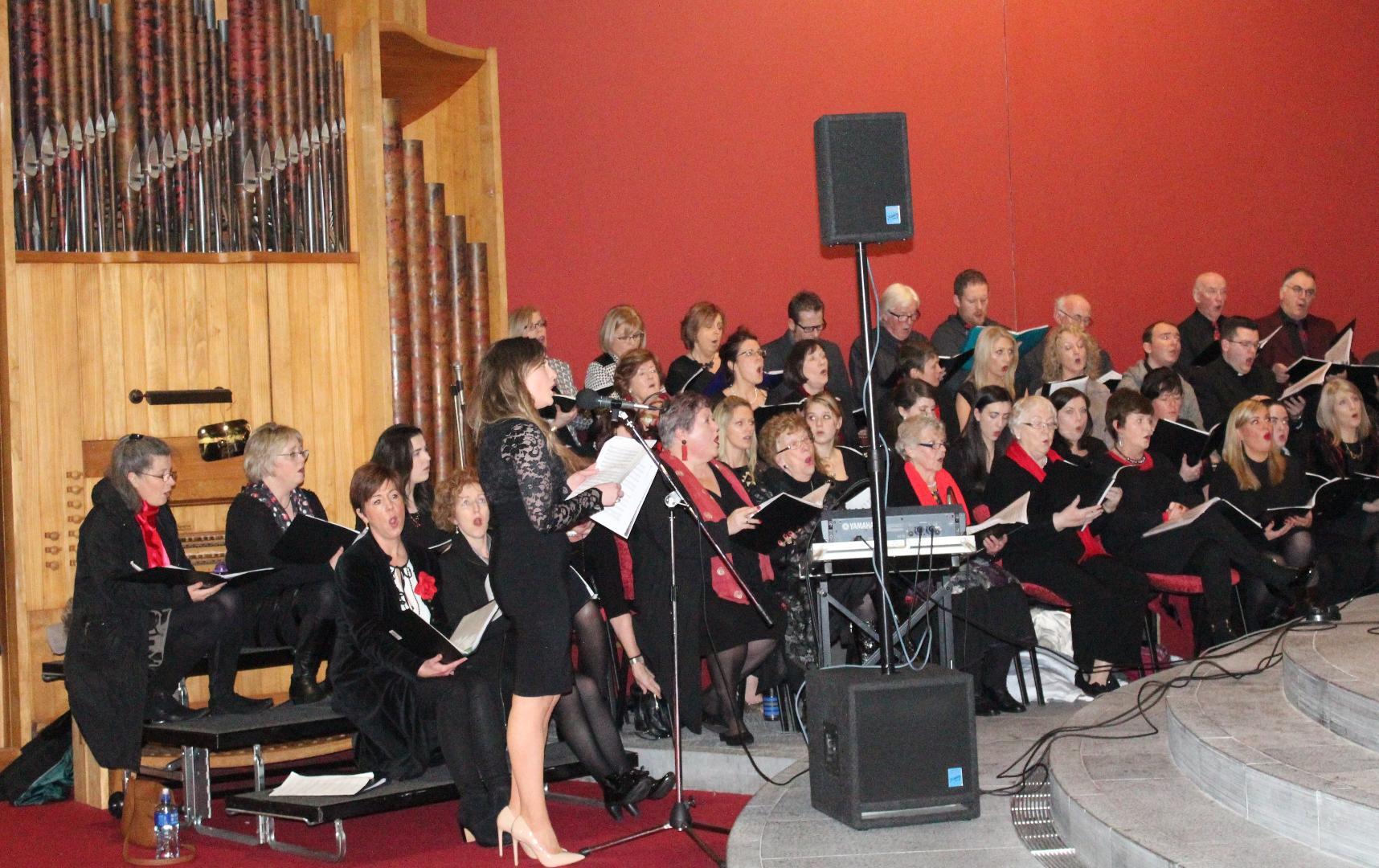 Photo of New choir rehearsal tonight