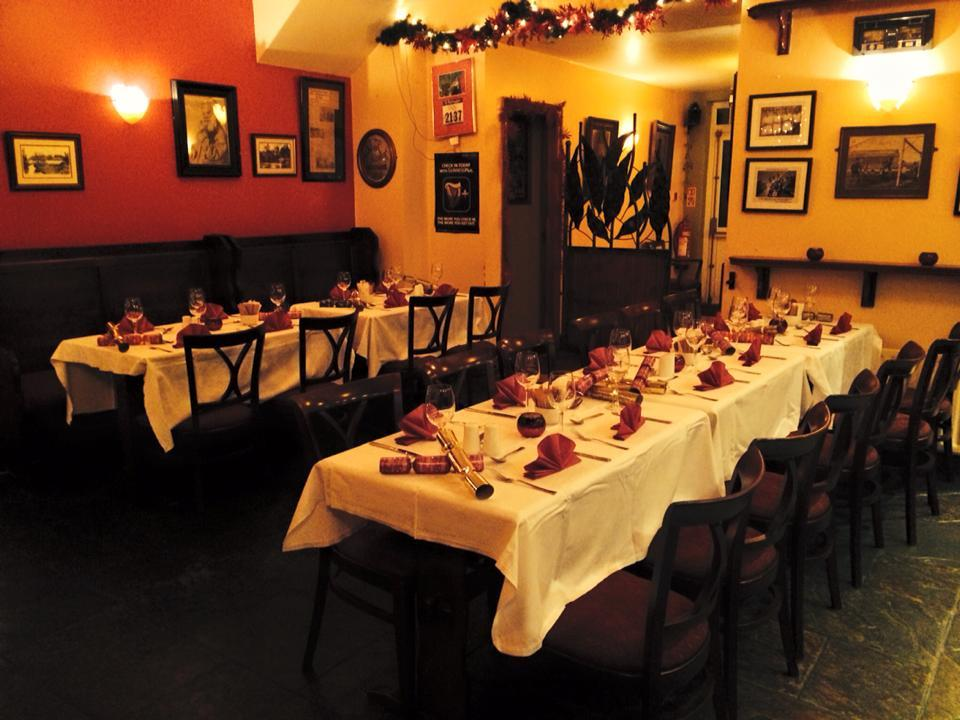 Photo of Christmas at Clarkes Restaurant