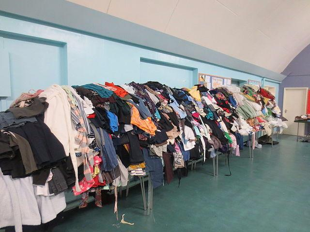 Photo of Used clothes collection in Boyle