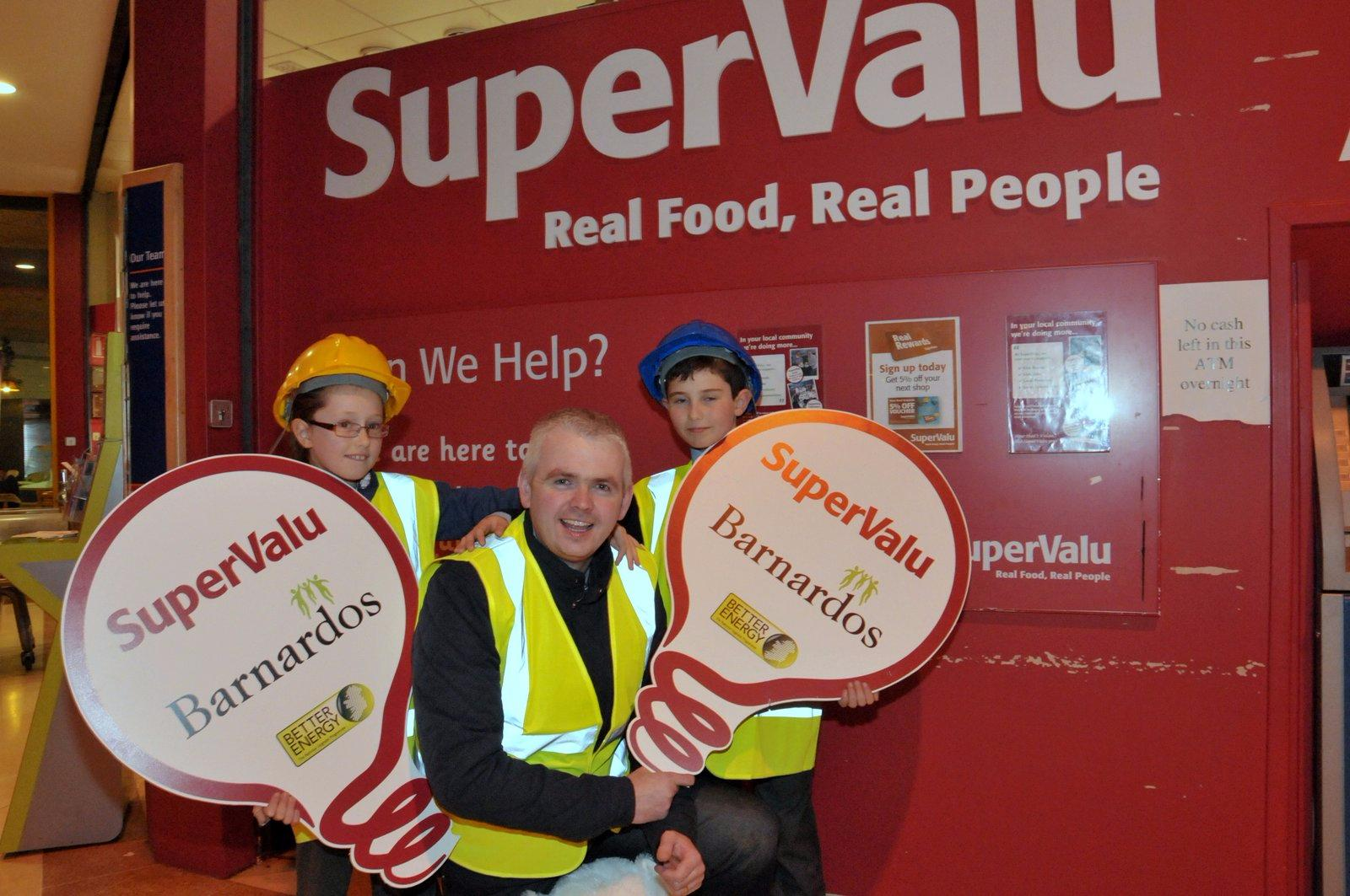 Photo of Kellys SuperValu assists Barnardos
