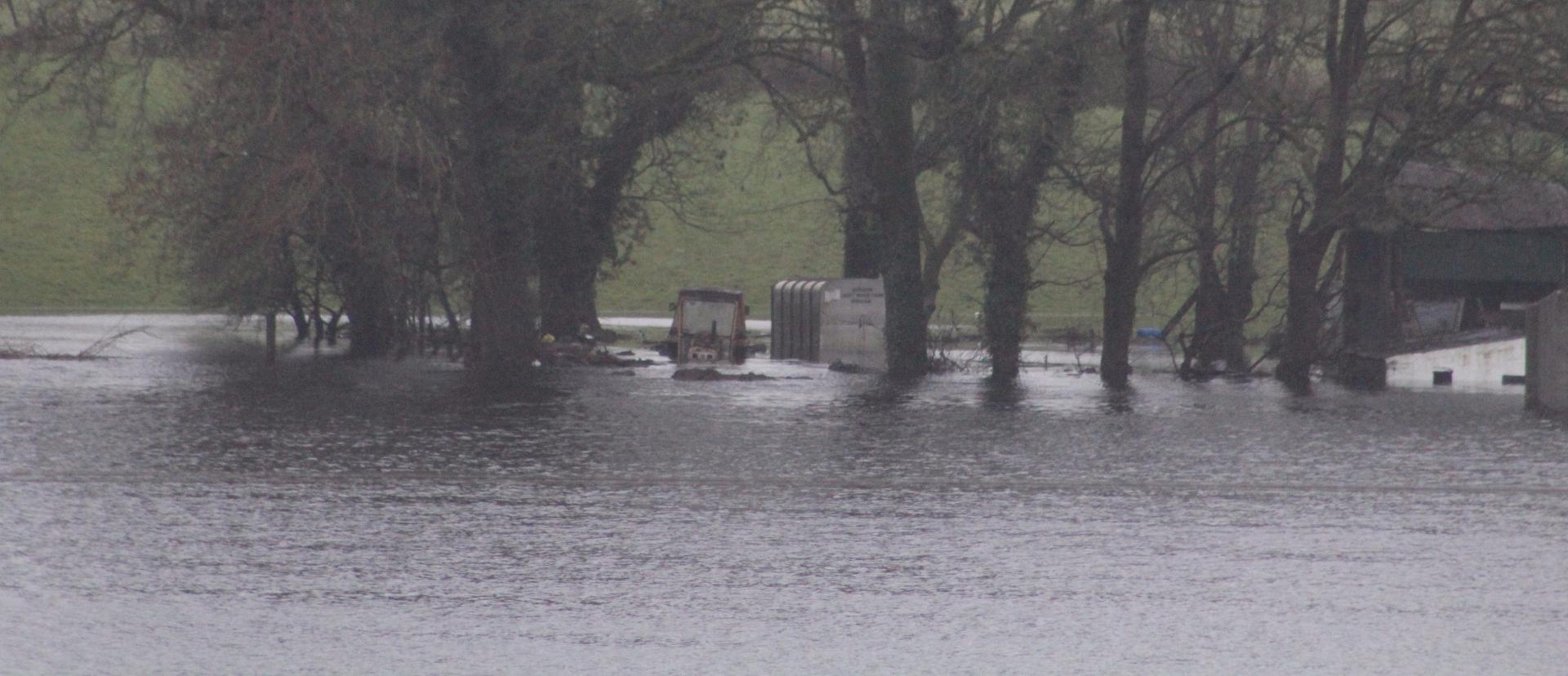 Photo of Sub Aqua team assist at flooding