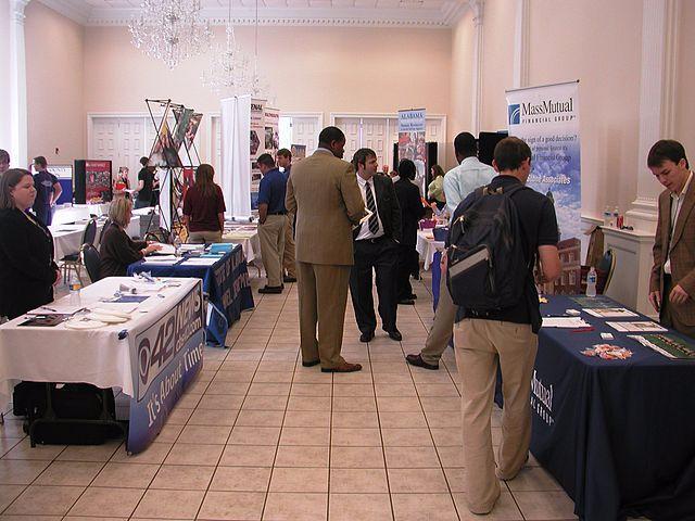 Photo of Careers Fair today in Sligo