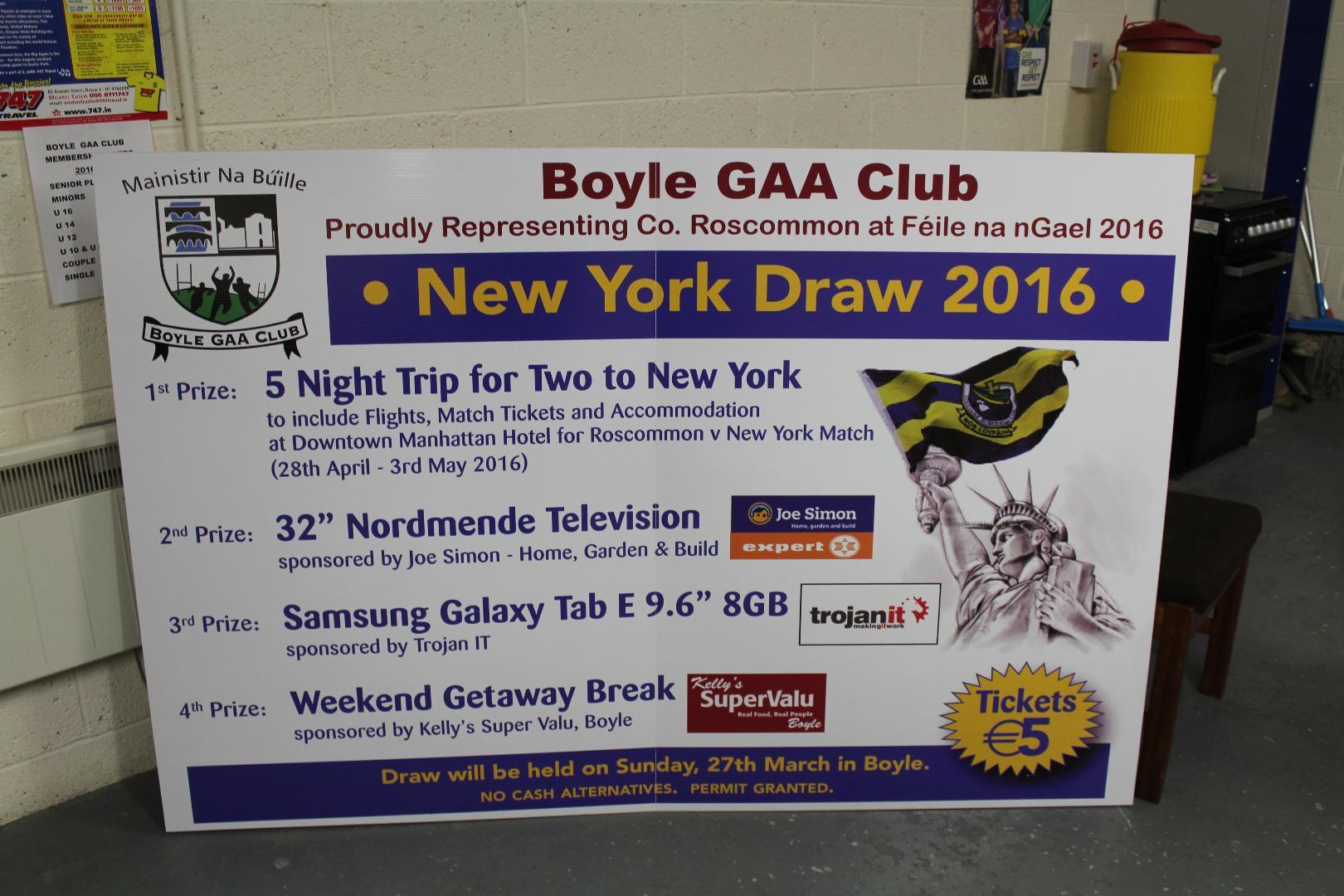 Photo of GAA draw winners announced