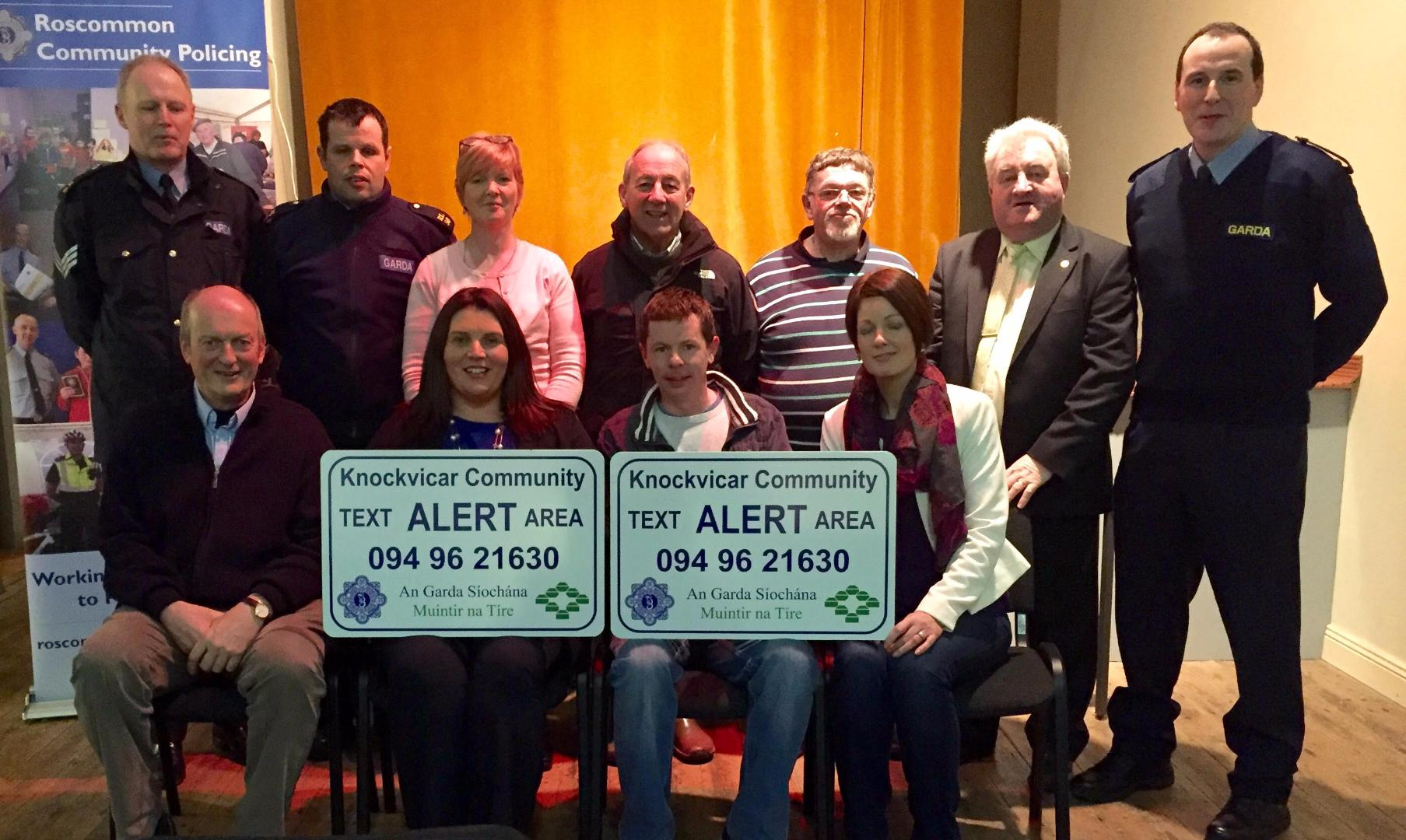 Photo of Knockvicar Text Alert Launched