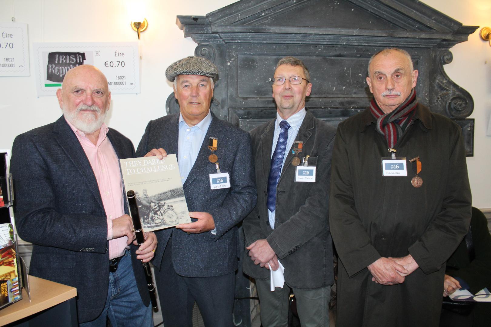 Photo of Matt Molloy opens old IRA exhibition