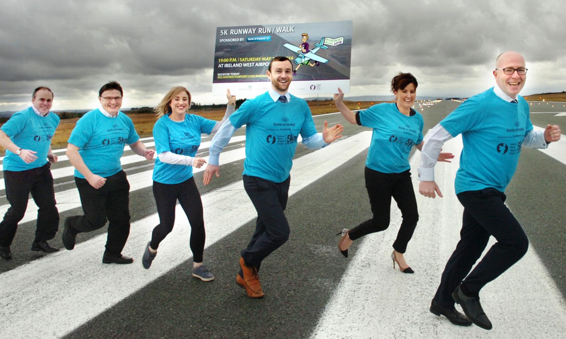 Photo of Runway walk at Knock Airport