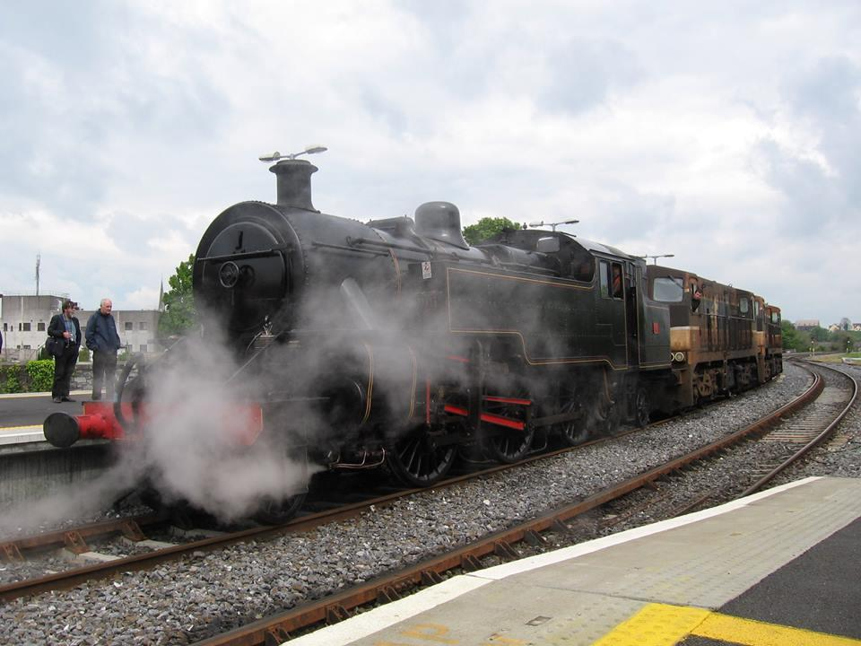Photo of Steam train in Boyle on Sunday