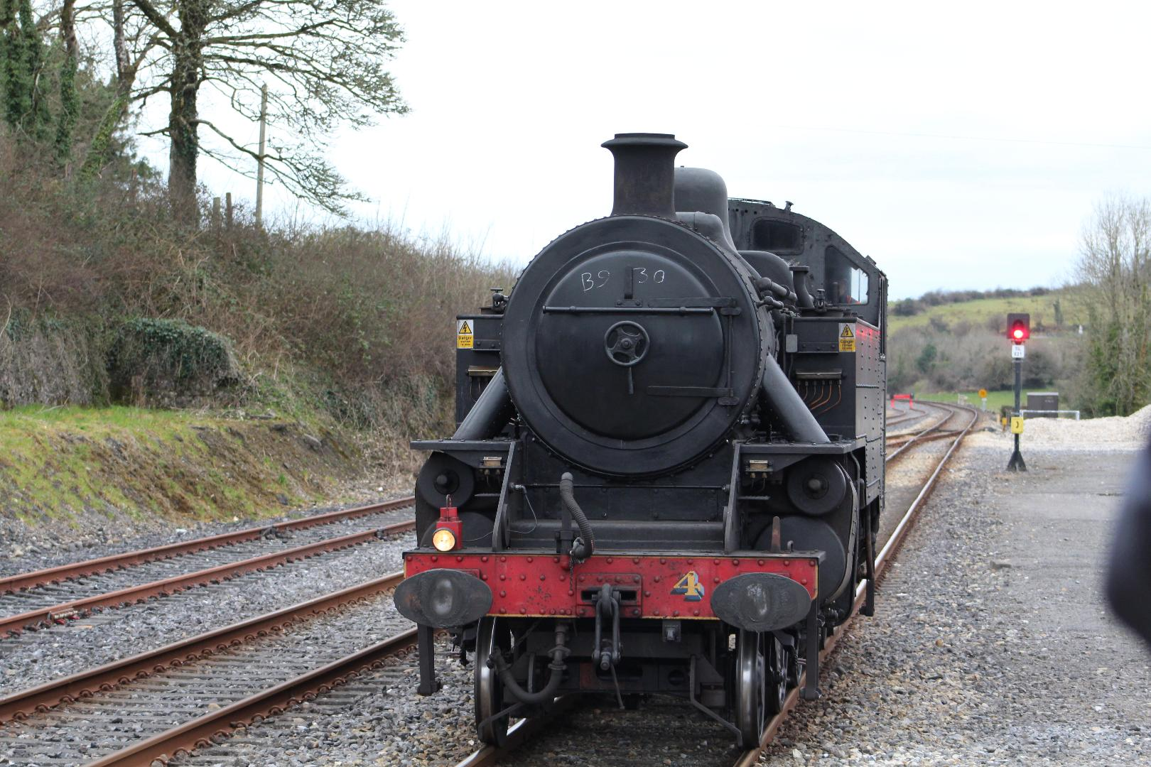 Photo of Steam Train visit this weekend