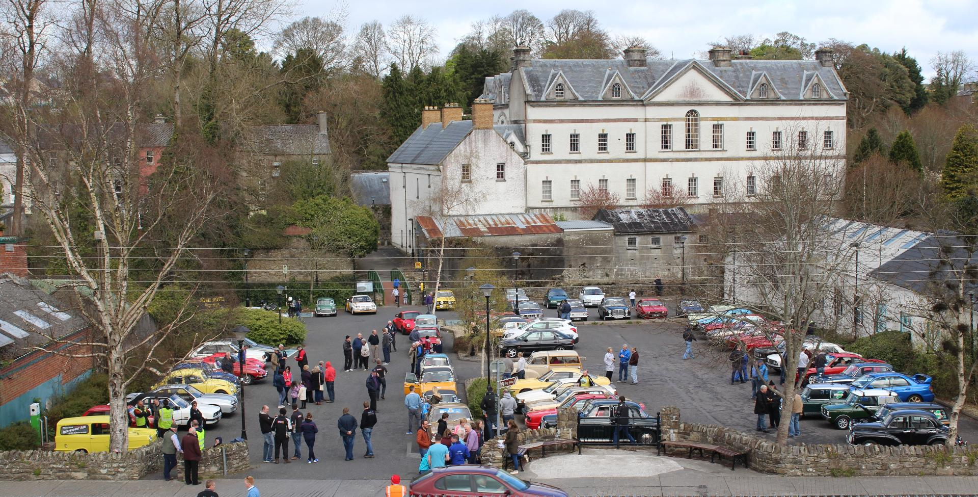 Photo of Over fifty cars took part in Boyle rally
