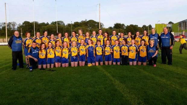 Photo of Boyle girls on Roscommon team
