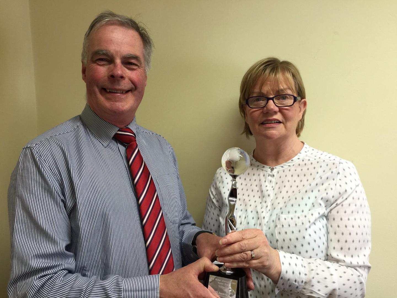 Photo of Award for Boyle company Moneyplus