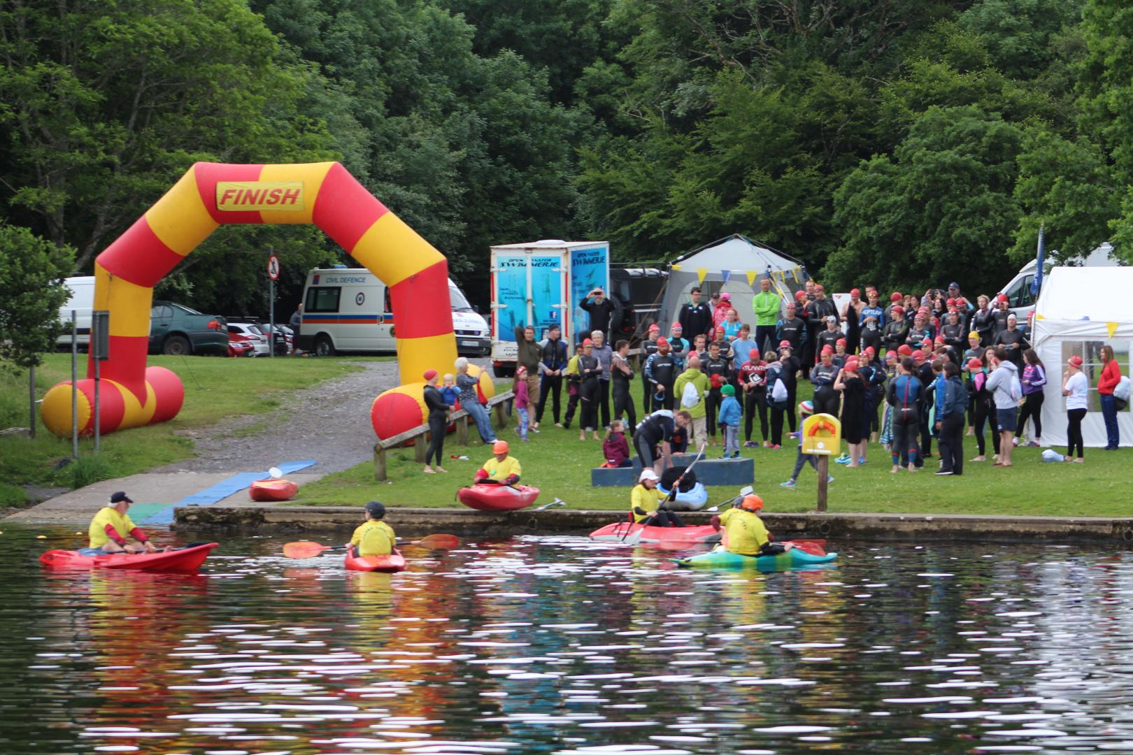 Photo of Open water swim held in Lough Key