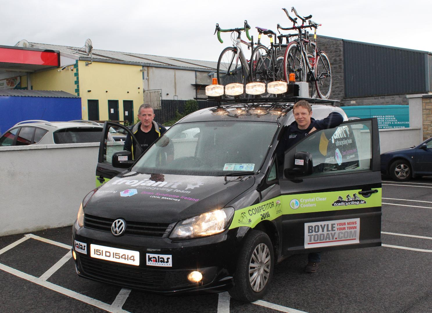 Photo of Boyle man in Donegal cycle challenge