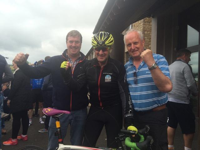 Photo of Enda completes Donegal Challenge
