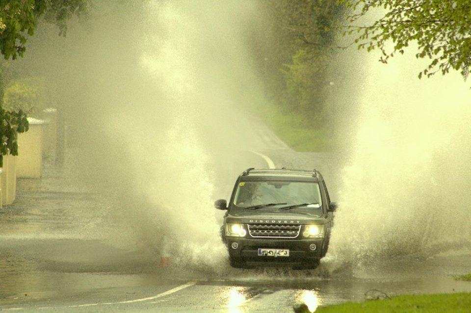 Photo of Watch: Torrential rain in Boyle