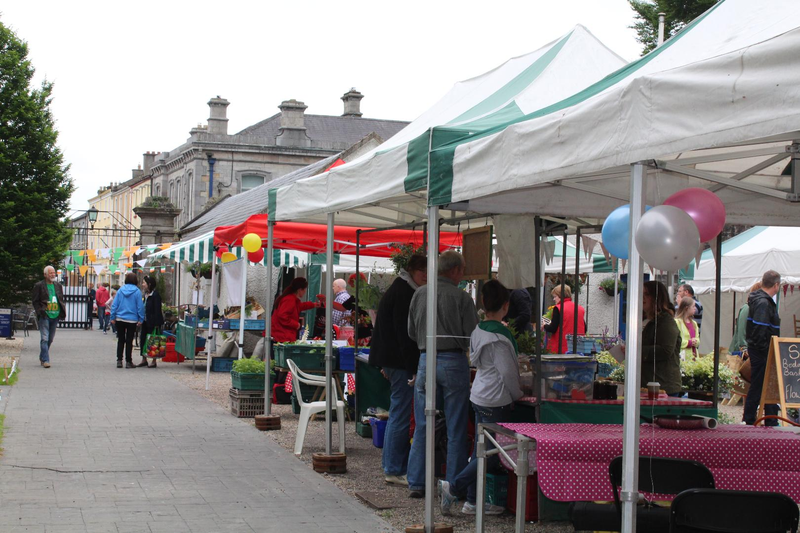 Photo of Courtyard Market on Saturday