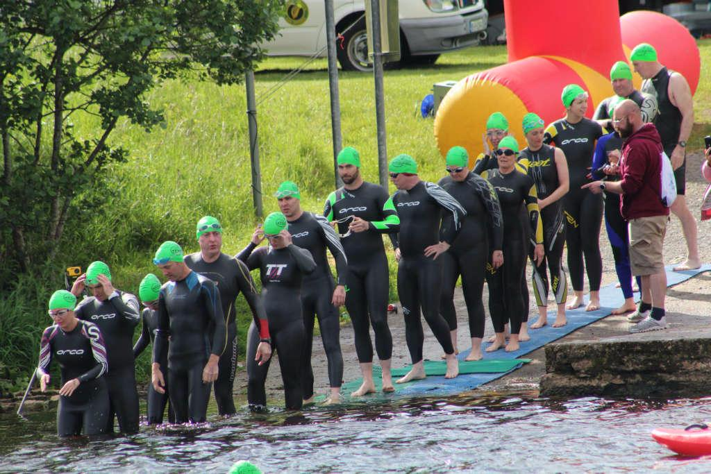 Photo of Lough Key Loop swim on Saturday