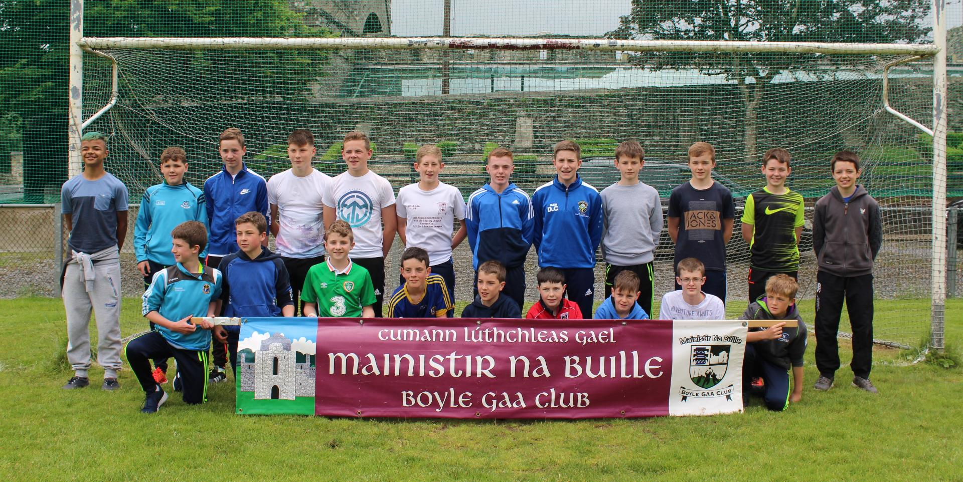 Photo of Boyle team heads for Feile 2016