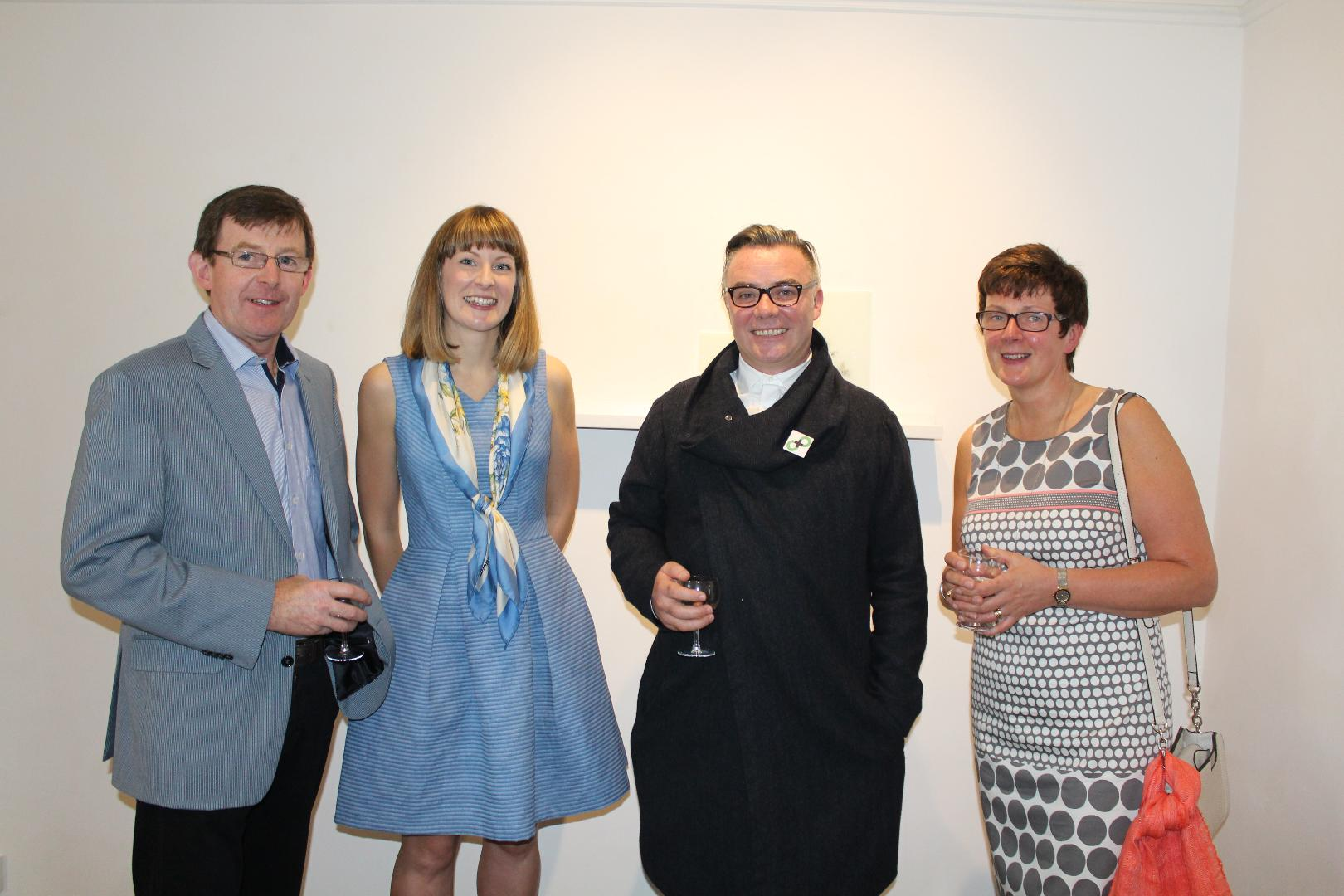 Photo of Boyle artists exhibition opens in Sligo