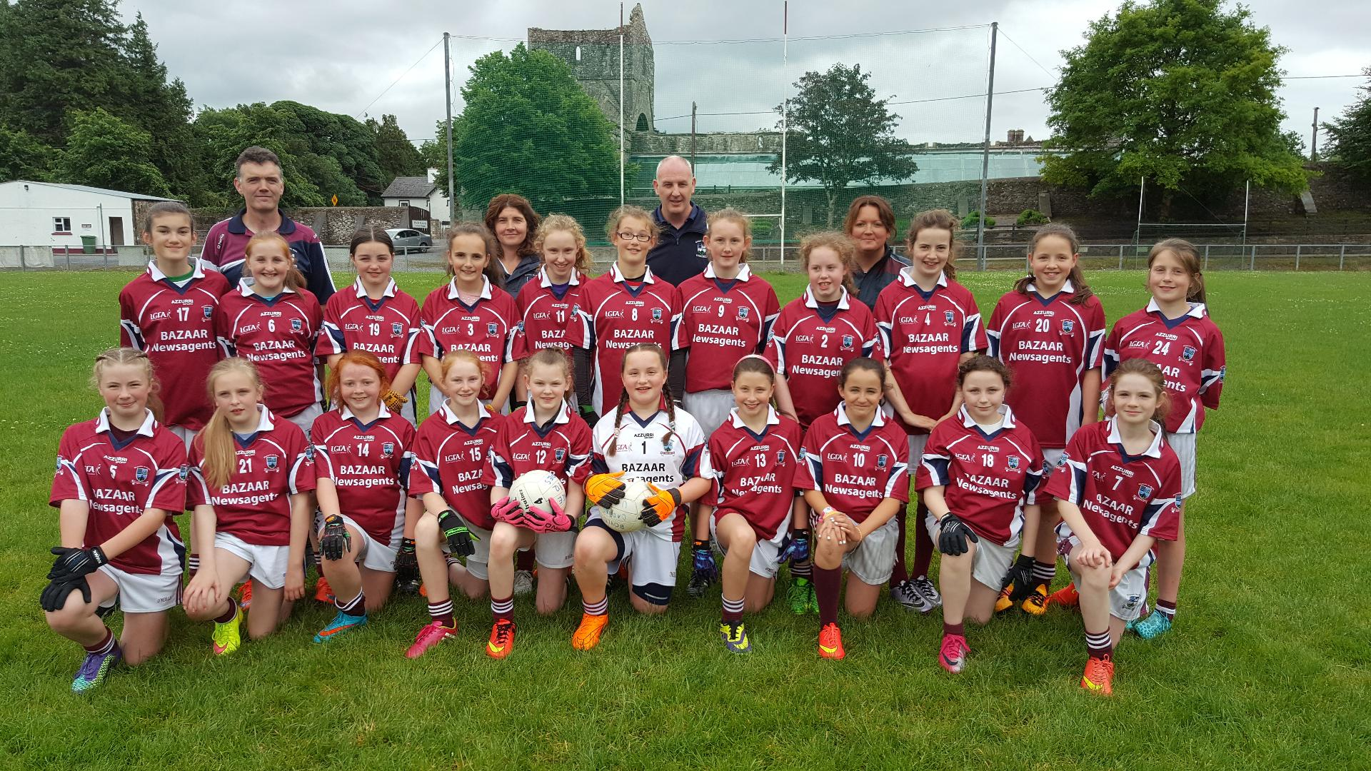 Photo of U12 girls are County Champions