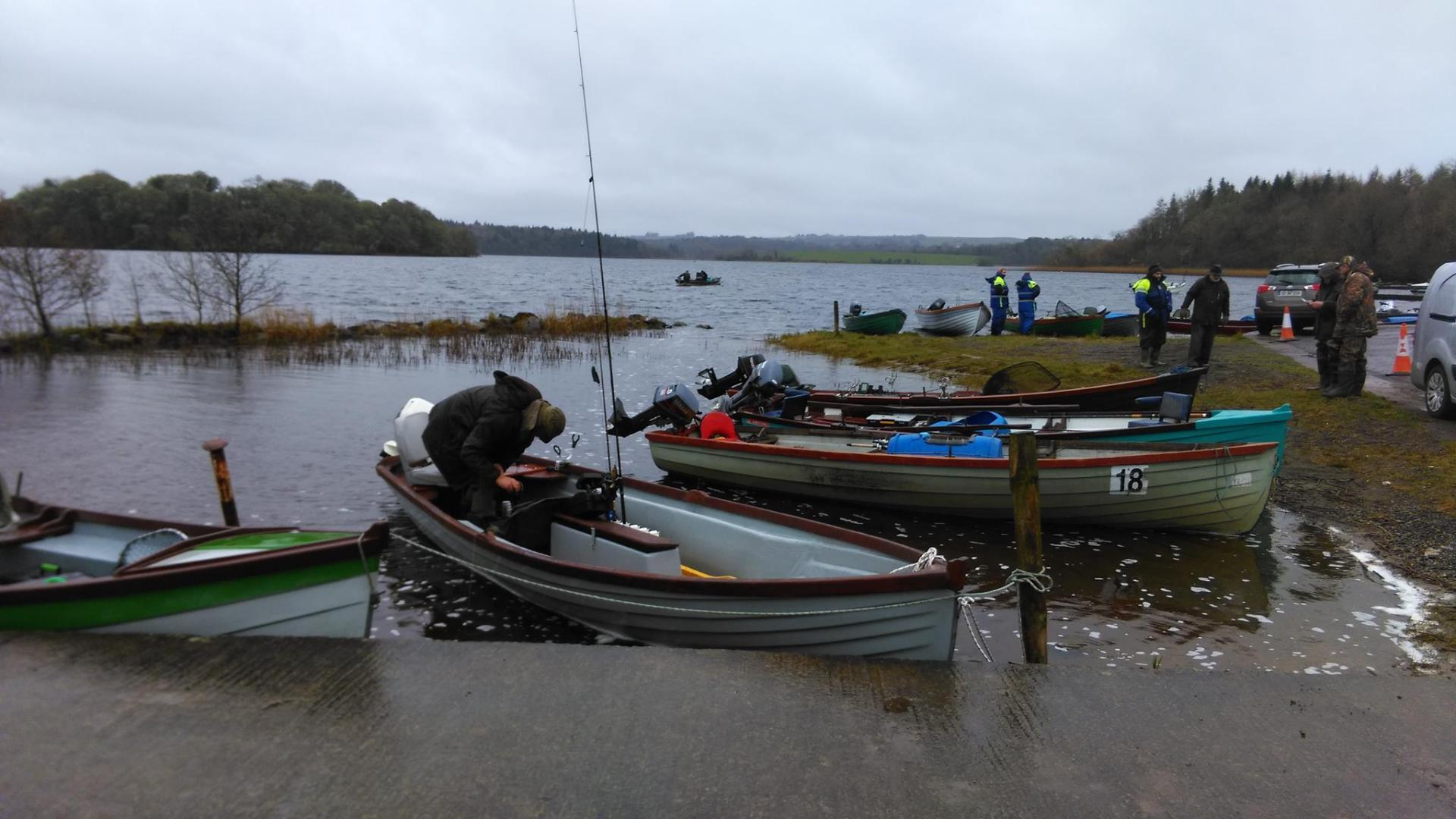 Photo of Paddy Kelly Cup fishing on Saturday