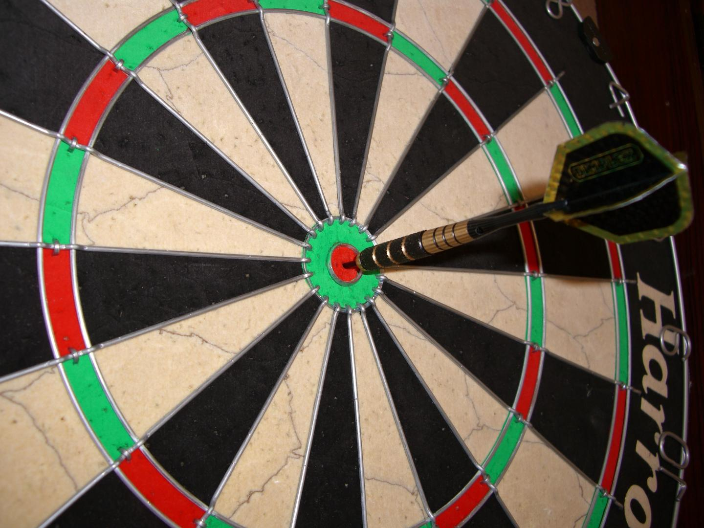 Photo of James (Lal) Woods dart competition