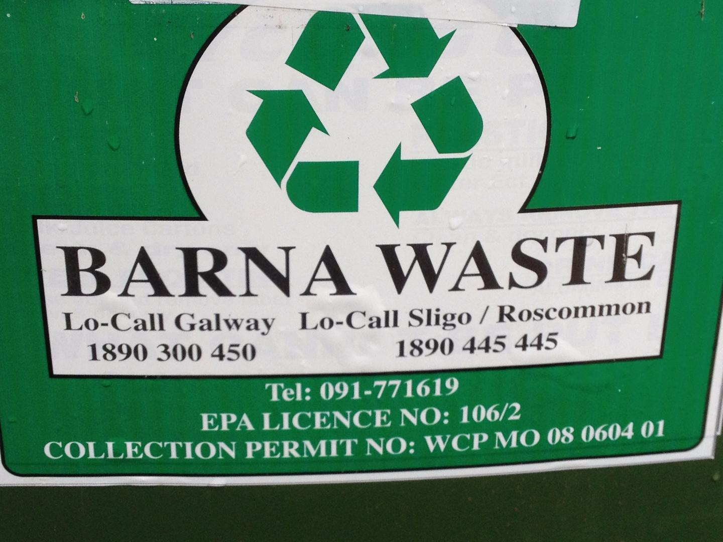 Photo of Barna Waste compost collection