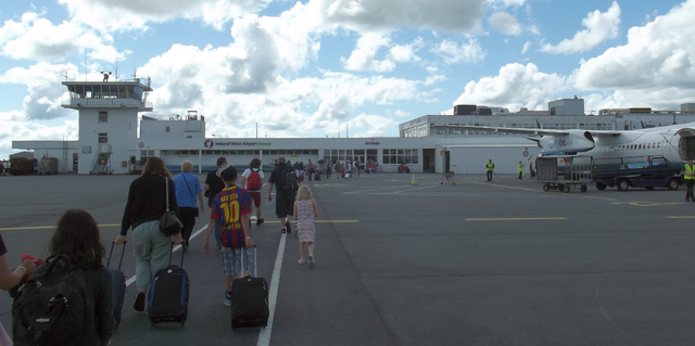 Photo of Passenger numbers rise at IWAK