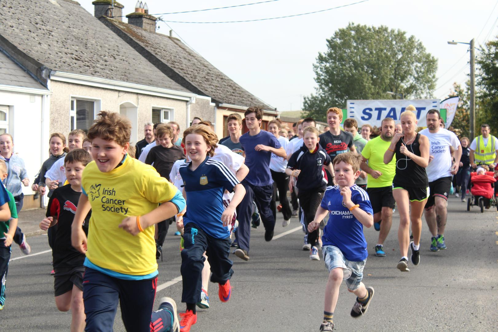 Photo of Croghan walk/run on St. Stephen's Day