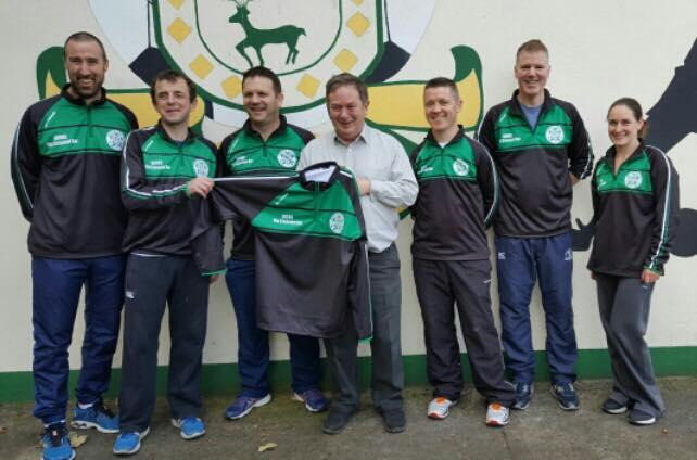 Photo of The Crescent Bar sponsors club tops