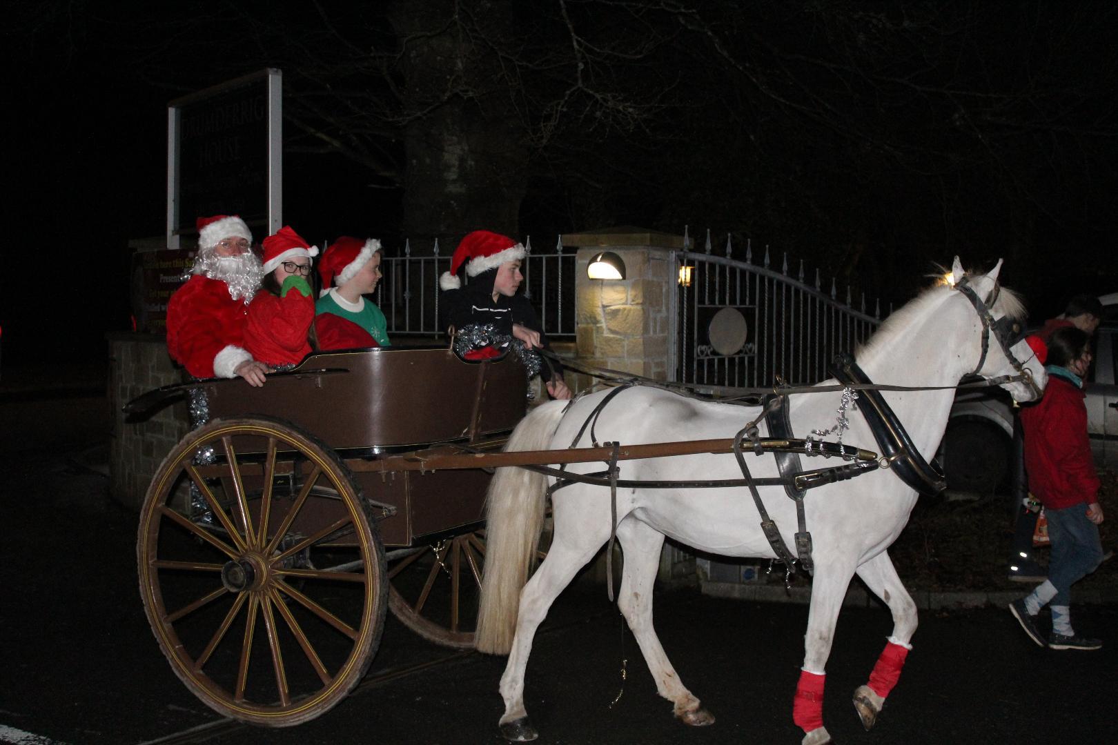 Photo of Santa to visit Drumderrig Home