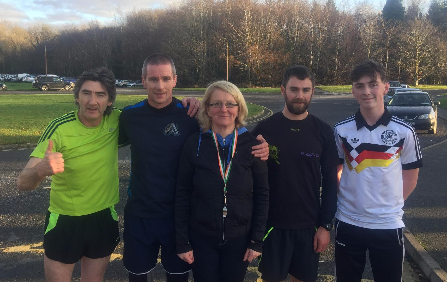 Photo of Fun run held in Lough Key Forest Park