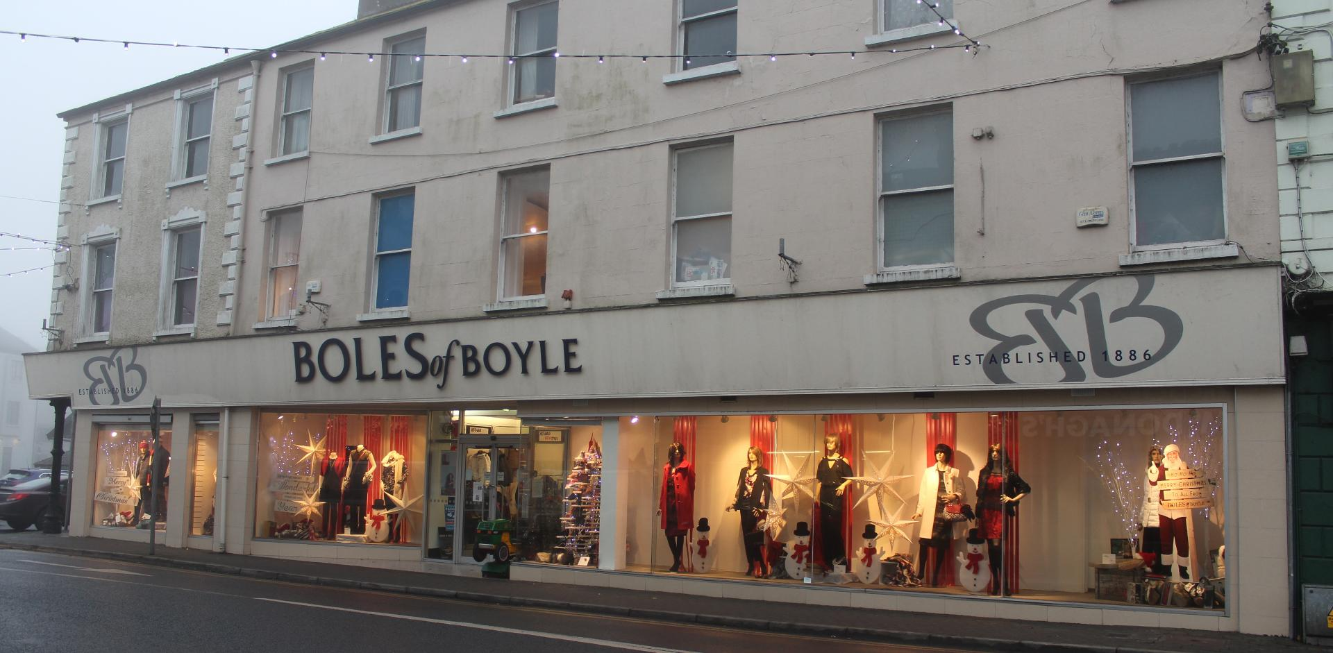 Photo of Christmas event at Boles of Boyle