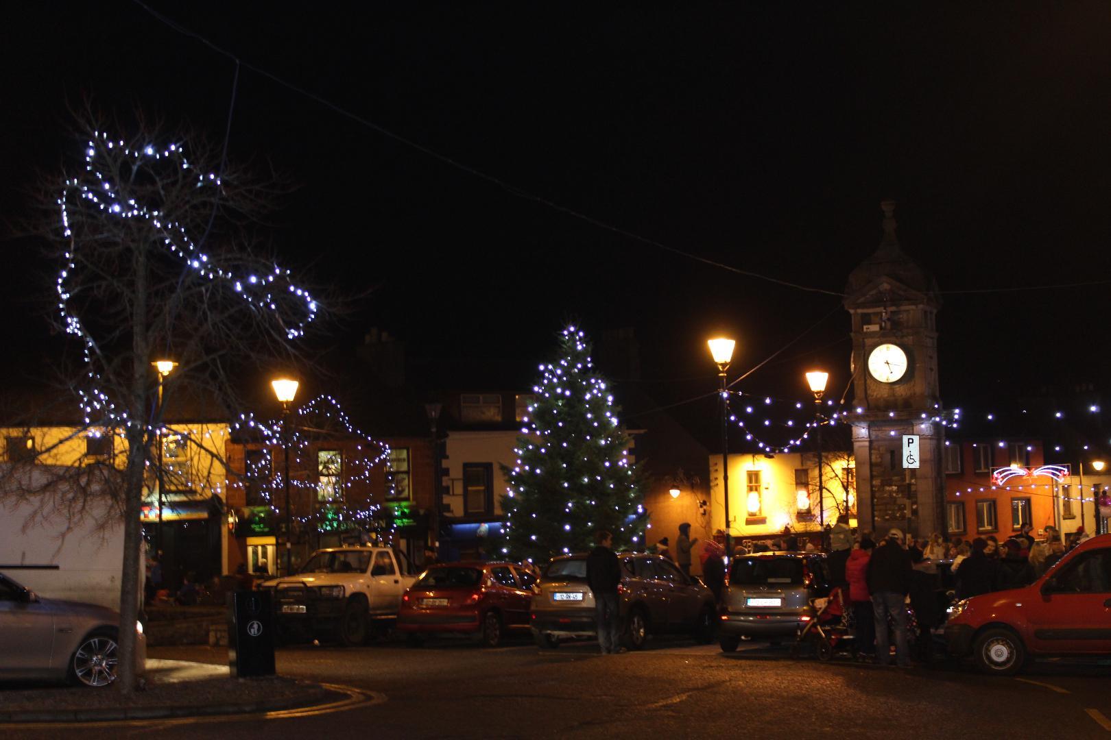 Photo of Christmas lights draw winners